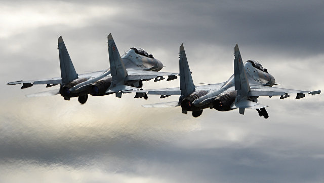 Российский военный самолет. Архивное фото