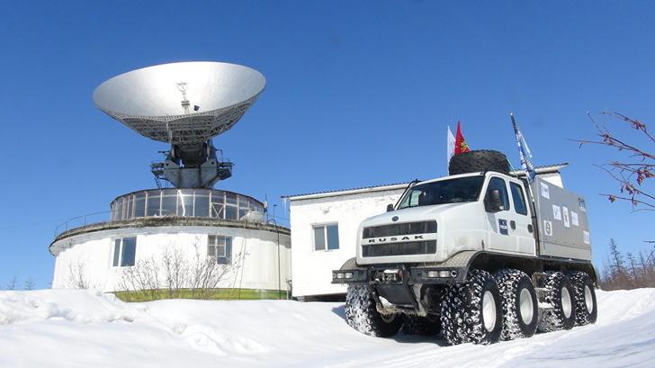 В Нижнем Новгороде создали вездеход нового поколения «Русак-3993»