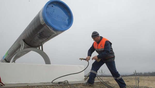Начало строительства газопровода Южный поток. Архивное фото