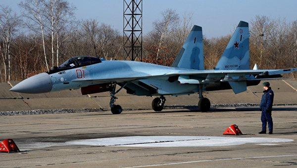 Самолет Су-35C. Архивное фото © РИА Новости. Виталий Аньков