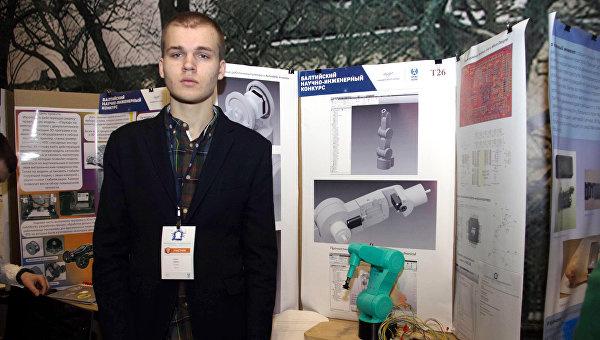 Ученик 11-го класса московского лицея №1502 при МЭИ Олег Зобов стал лауреатом третьей степени в категории Grand Award