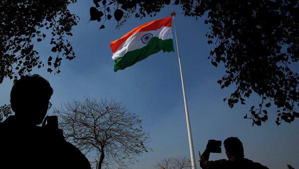 Флаг Индии. Архивное фото© AP Photo/ Saurabh Das