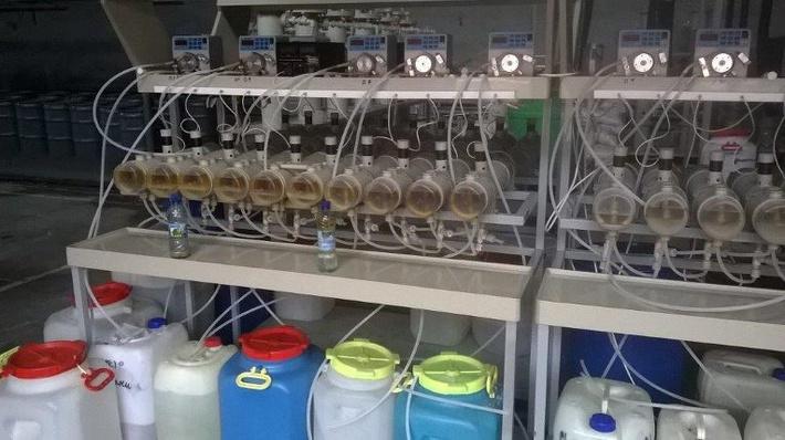 """Пилотная установка по попутной добыче скандия на урановых месторождениях АО """"Далур"""" (с) Фото АРМЗ"""