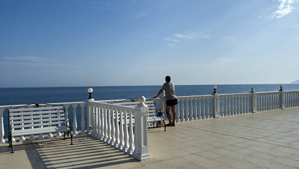 Отдых в отелях Крыма. Архивное фото