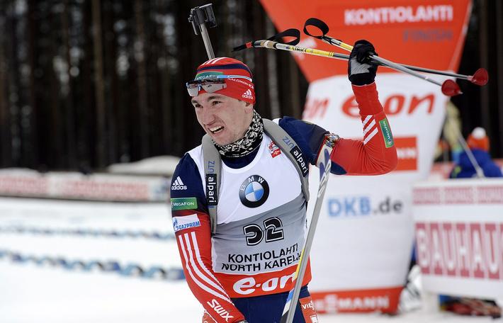 Россиянин Логинов стал победителем гонки преследования на ЧЕ по биатло