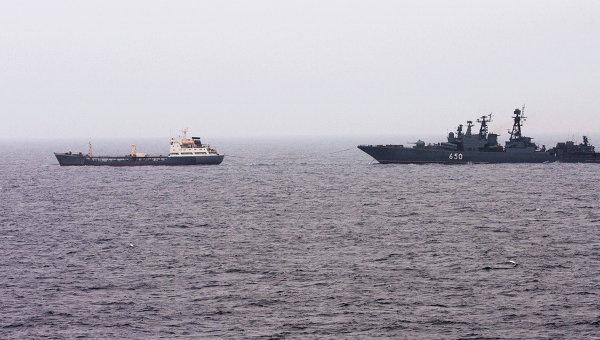 Боевые корабли Северного флота. Архивное фото
