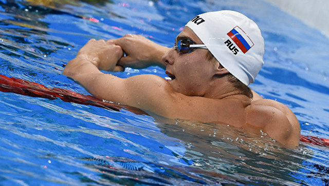 Российский пловец Владимир Морозов. Архивное фото