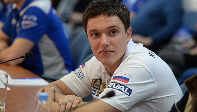 Участник ралли Дакар в зачете Quad (квадроциклы) Сергей Карякин. Архивное фото
