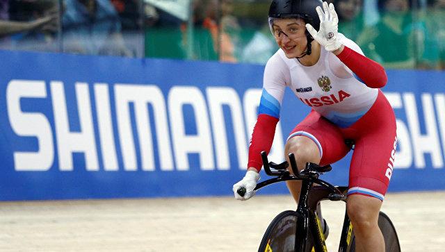 Российская велогонщица Шмелева завоевала золото в гите на ЧМ