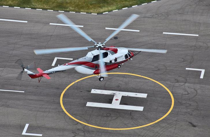 В воздух поднялся первый серийный экземпляр вертолета Ми-171А2