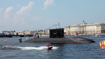 Подводная лодка проекта Лада. Архивное фото