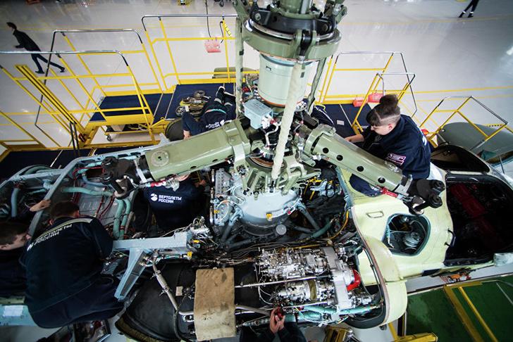 Редуктор и силовая установка вертолета Ка-52 «Аллигатор»