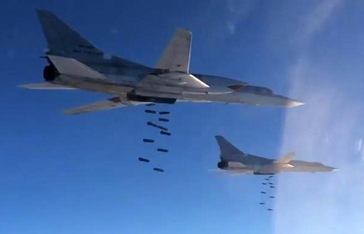 Бомбардировщики Ту-22М3