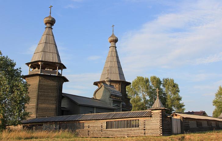 В Архангельской области после реставрации открыли Почезерский храмовый комплекс XVIII века