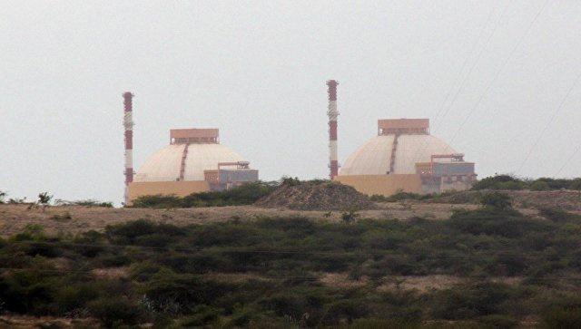 АЭС Куданкулам на юге Индии. Архивное фото