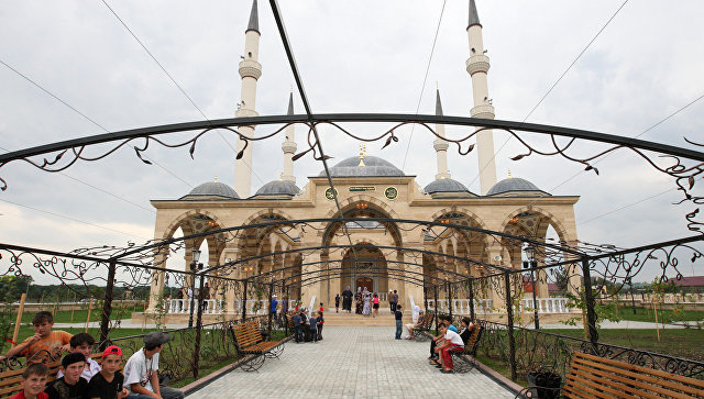 Мечеть имени Султана Делимханова в Чечне. Архивное фото