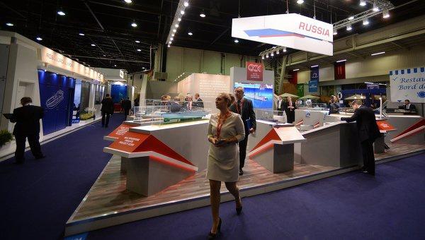 Открытие 24-й Международной выставки военно-морской техники и вооружения Euronaval 2014
