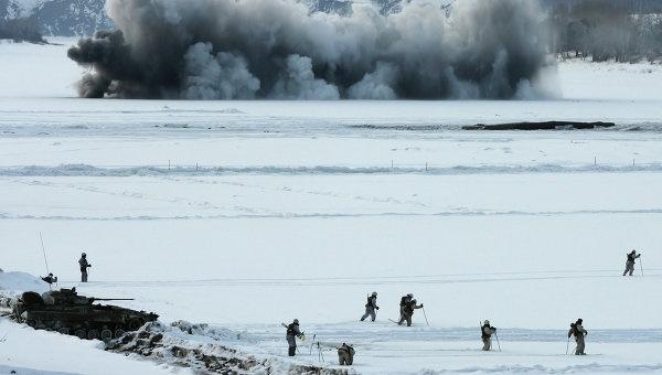 Военные учения, архивное фото © РИА Новости. Валерий Титиевский