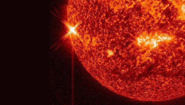 Вспышка на Солнце. Архивное фото © NASA. SDO
