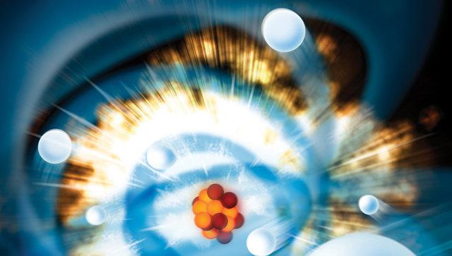 Электроны и ядро атома