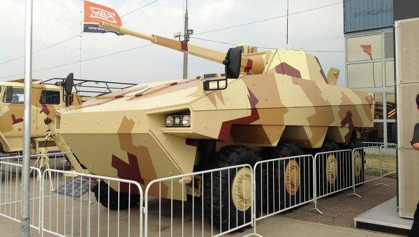 Российско-французская БМП Атом. Архивное фото