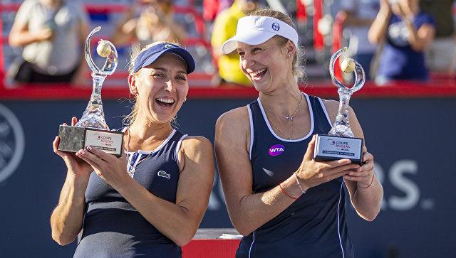 Российские теннисистки Елена Веснина и Екатерина Макарова победили в парном разряде на турнире в Монреале. Канада