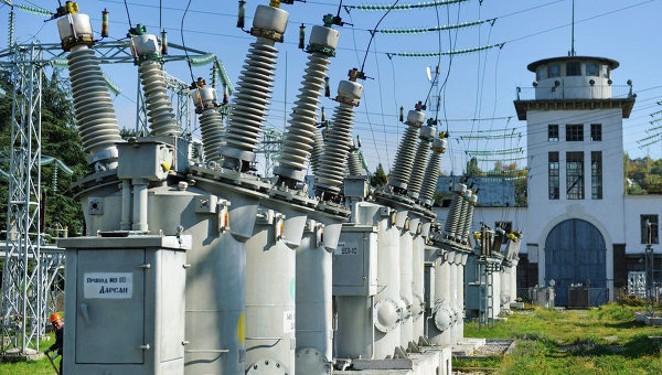 Распределительная электроподстанция Крымэнерго. Архивное фото © Фото: пресс-служба ДТЭК