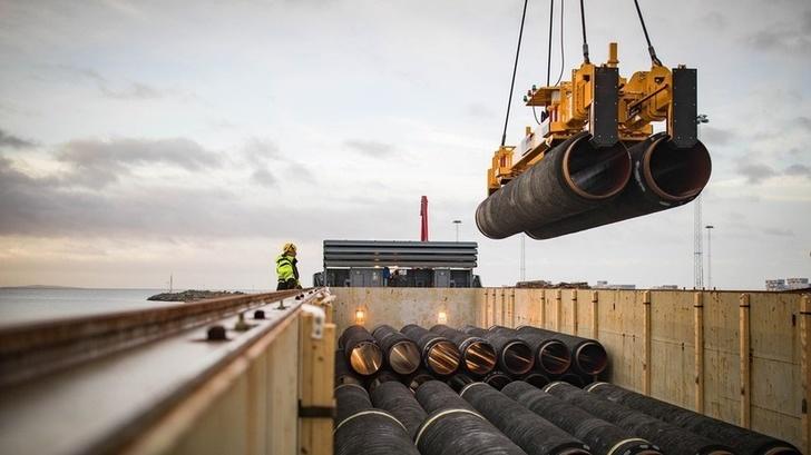 Начались подготовительные работы на морском участке «Северного потока ‑ 2» в Германии