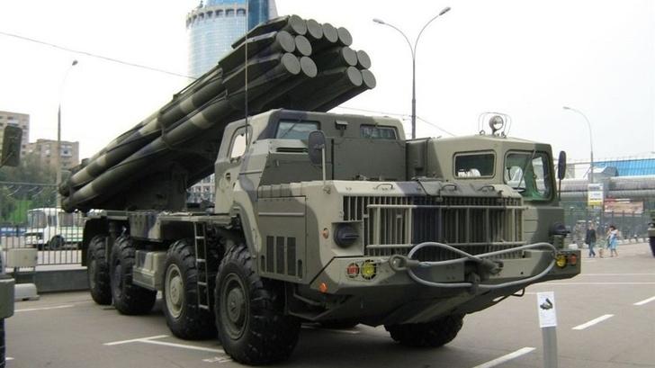 Под Астраханью проведены боевые пуски из новейших РСЗО «Торнадо-С»