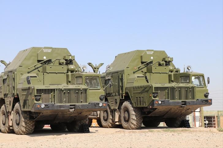 ЗРК С-300ПС впервые заступили на боевое дежурство на российской базе в Таджикистане