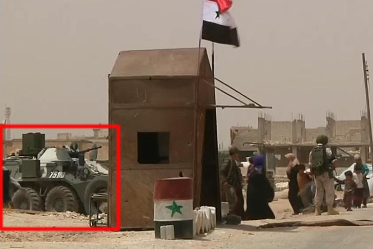 Бронированный разведчик РХМ-6 впервые замечен в Сирии