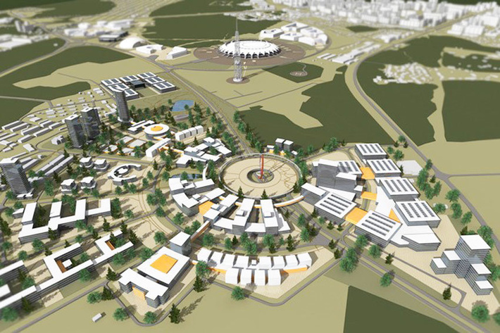 """Гагарин-центр появится рядом со строящимся к ЧМ-2018 стадионом """"Самара Арена"""""""