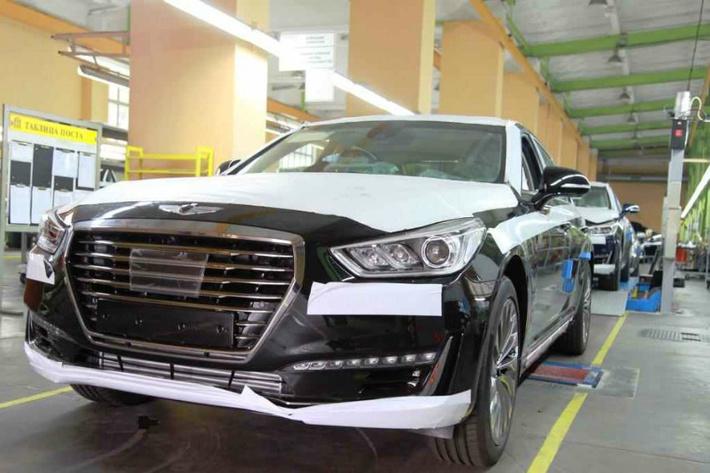 «Автотор» начал производство флагманского Genesis G90 в Калининграде