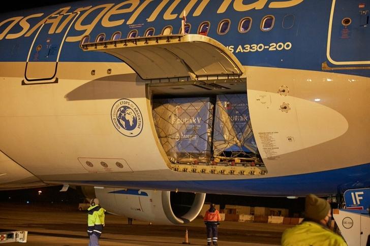 «Аэробус 330-200» «Аргентинских Авиалиний» прибыл в Буэнос-Айрес 1 июля