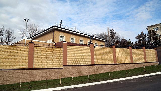 В Бахчисарае открыли новое здание крымского управления ФСБ