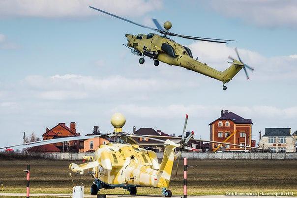 """Первая партия вертолетов этого типа, уже изготовлена """"Роствертолом"""", была замечена 16 марта на аэродроме производителя"""