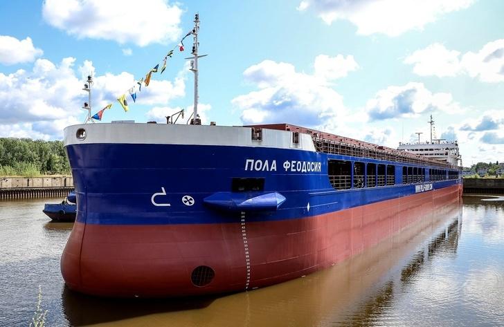 ССЗ «Красное Сормово» спустил на воду четвёртый сухогруз проекта RSD59