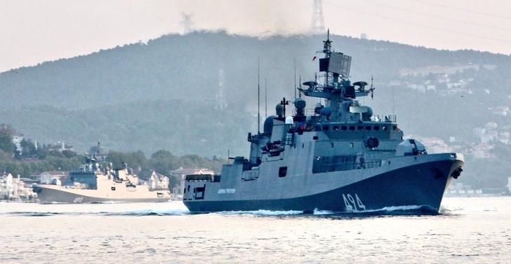 Корабли Черноморского флота ушли в Средиземное море