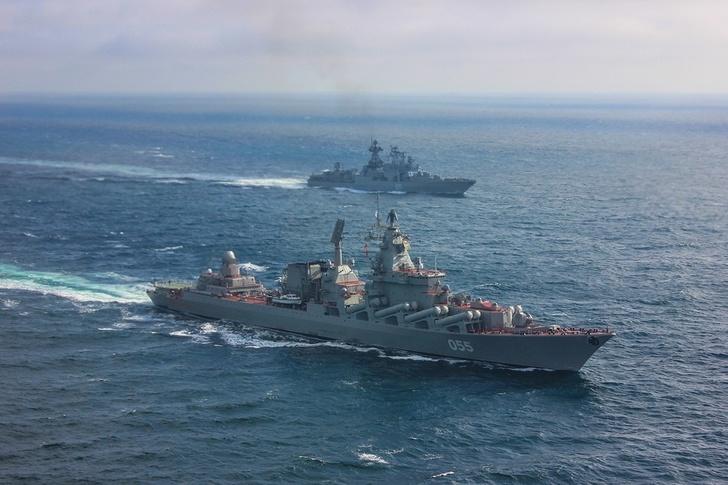 Отряд Северного флота вошёл в Средиземное море