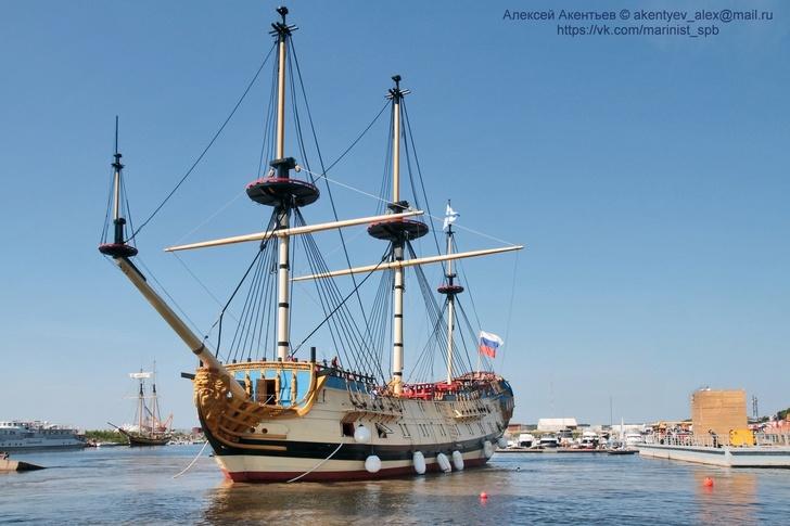 Линейный корабль «Полтава»