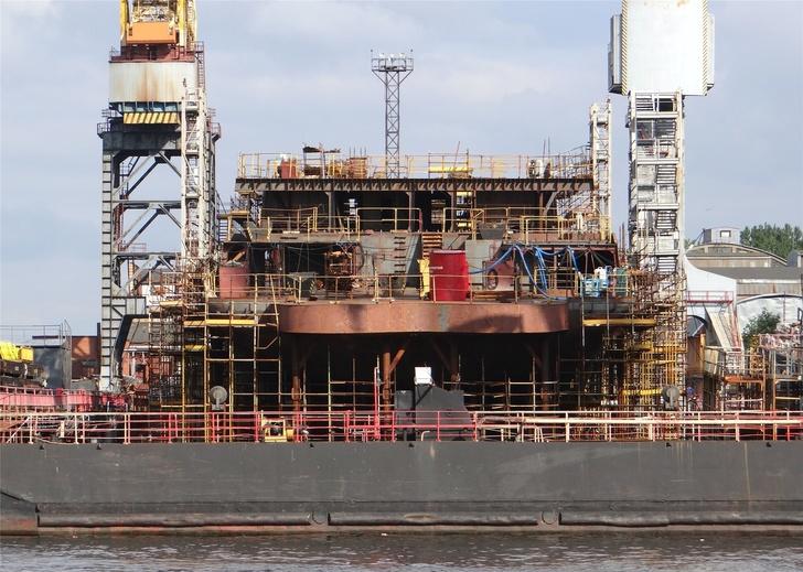 Строительство патрульного корабля «Иван Папанин»