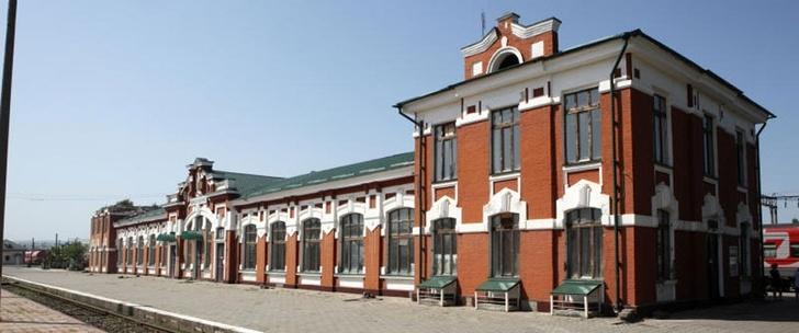 вокзал вГудермесе