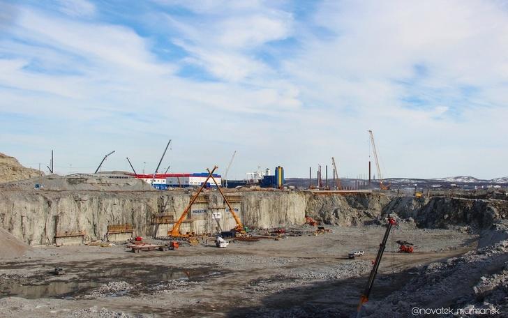 Строительство сухого дока в Белокаменке