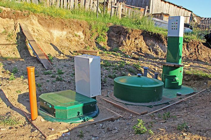 Станция глубокой биохимической очистки хозяйственно-бытовых сточных вод AltaBio на о. Ольхон