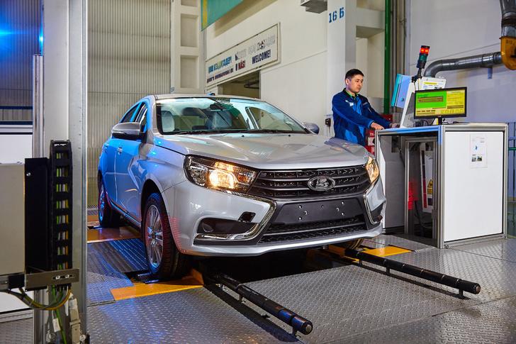 В Казахстане стартовали продажи автомобилей LADA Vesta SW и LADA Vesta SW Cross