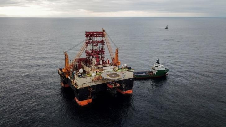 «Роснефть» завершила бурение первой разведочной скважины на шельфе Черного моря