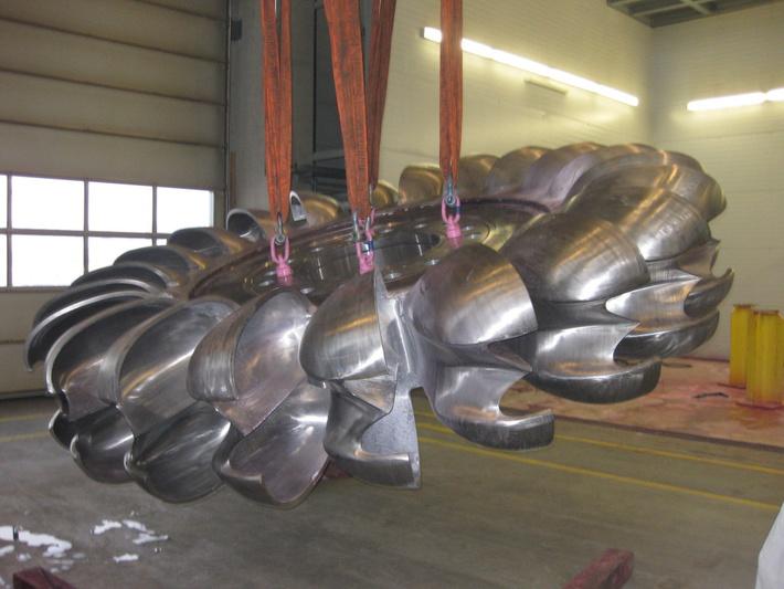 Рабочее колесо турбины ГЭС