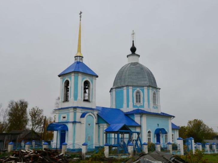 В Брянской области восстановили храм XVIII века