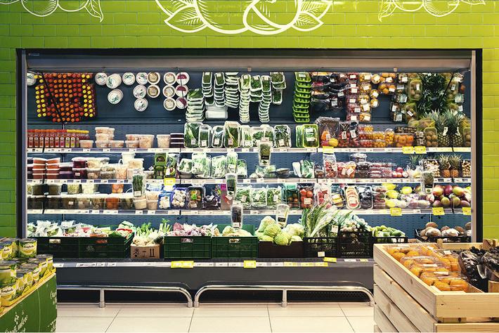 Пример продукции компании Брэнфорд. Холодильная витрина модели Tesey. Фото brandford.ru