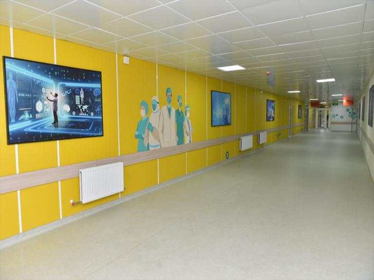 Инфекционный госпиталь в Петропавловске, возведенный с использованием отделочных стеновых панелей компании